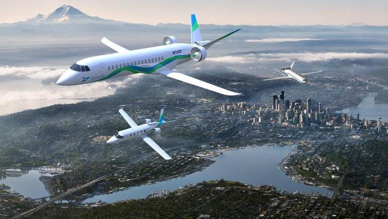 Dibekingi Boeing, Startup Ini Bikin Pesawat Hybrid