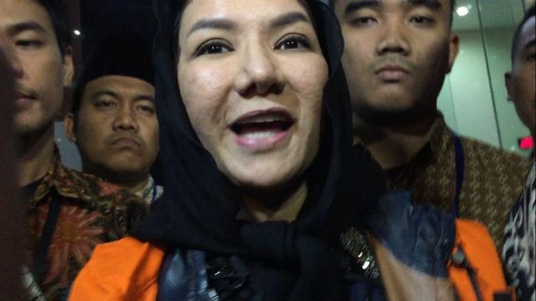 Siap Ajukan Bupati Saya Merasa - Jakarta KPK menahan Bupati Kutai Kartanegara Kalimantan Rita Widyasari untuk hari Saat akan Rita menyatakan tidak bersalah dan