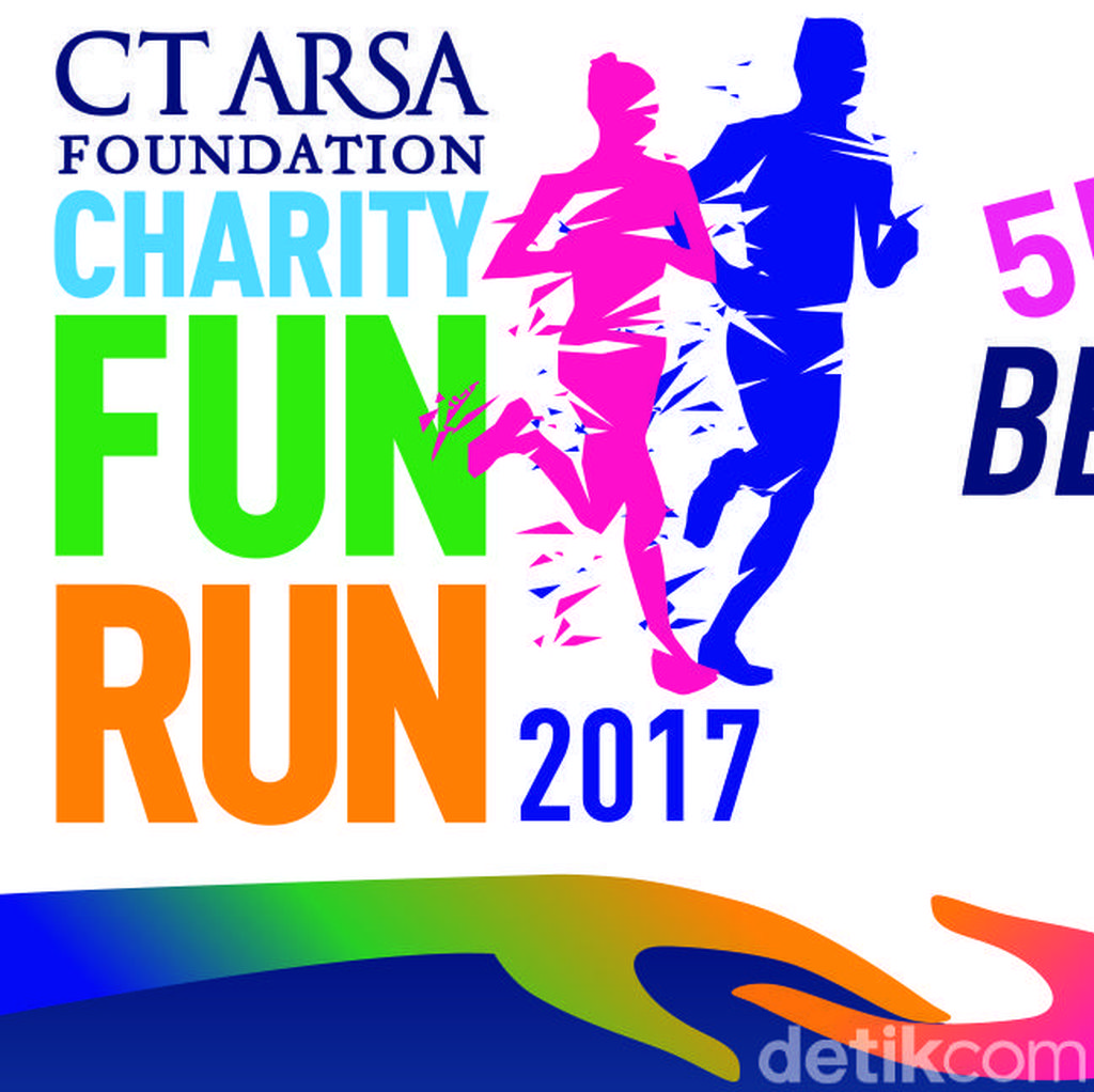 Tampil Unik di CT ARSA FOUNDATION Charity Fun Run Supaya Pulang Bawa Uang