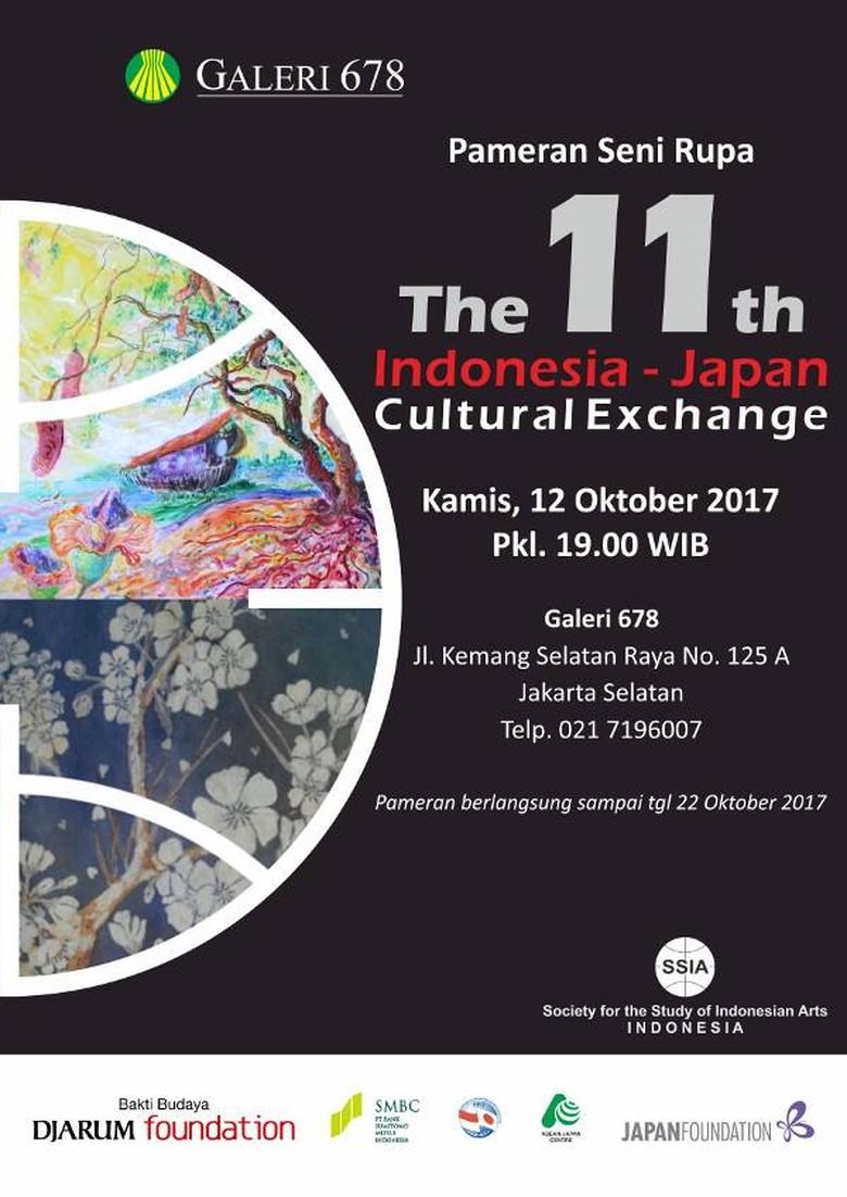 33 Karya Seniman Indonesia dan Jepang Dipamerkan di Jakarta