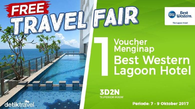 Free Travel Fair Best Western Lagoon Hotel (detikTravel)