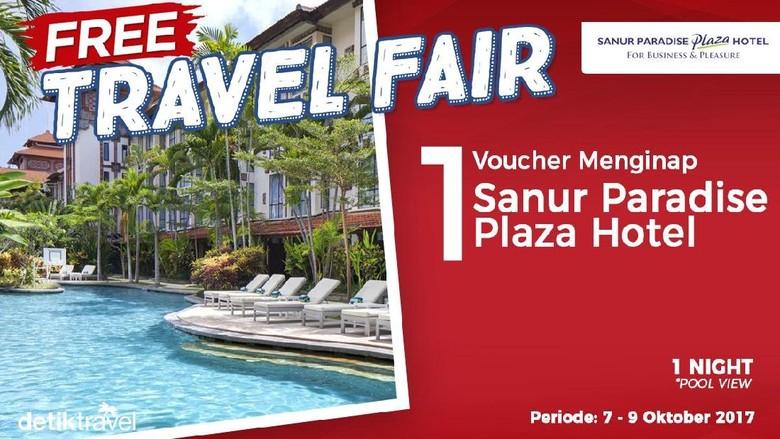 Free Travel Fair Sanur Paradise Plaza Hotel (detikTravel)