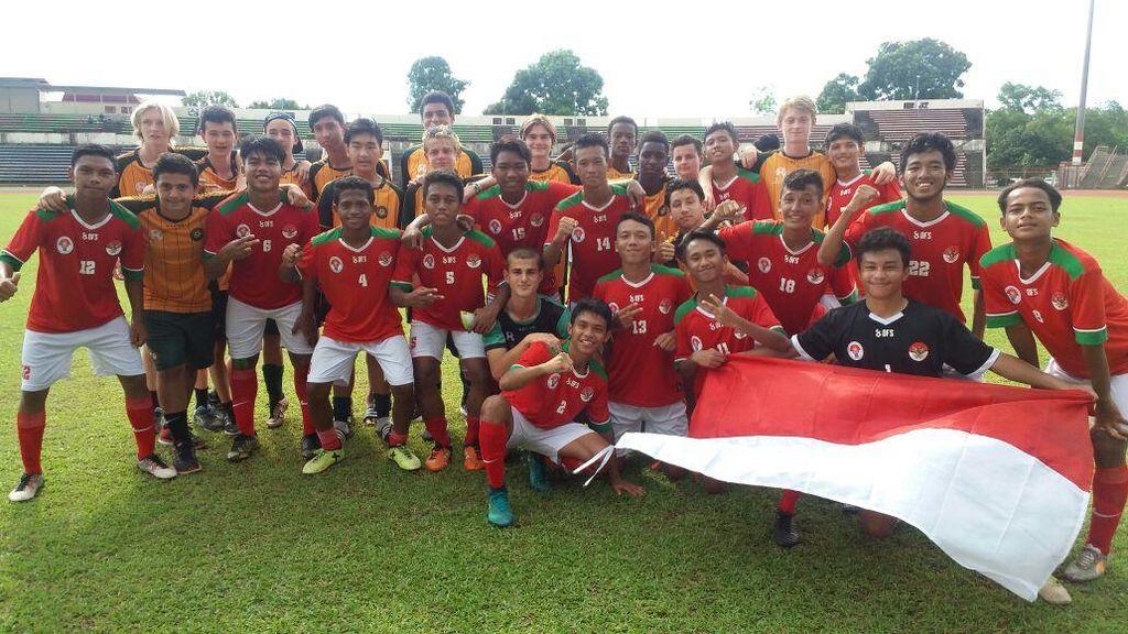 Tim Pelajar Indonesia U-16 Jadi Juara Turnamen di Malaysia