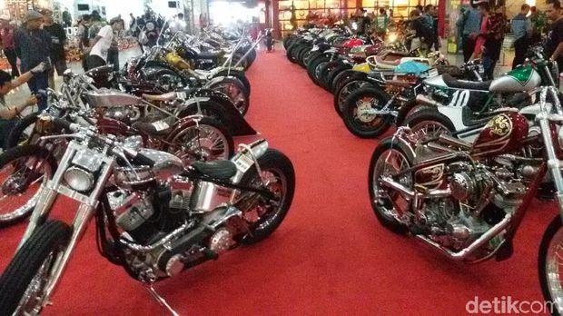Seleksi Ketat, 150 Motor Custom Tak Lolos di Kustomfest 2017