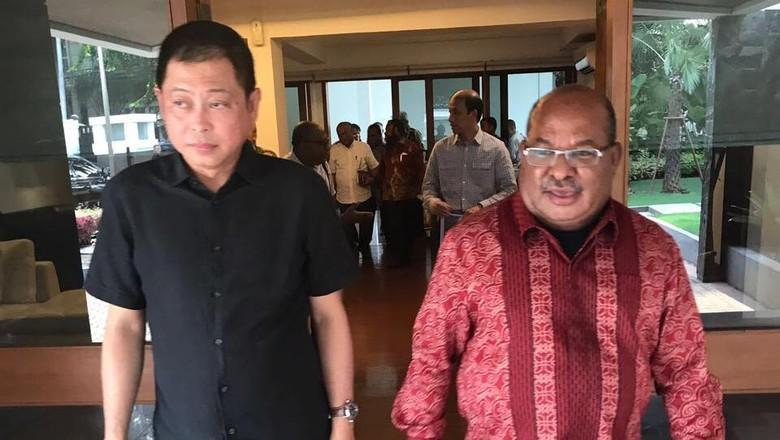 Bahas Freeport, Jonan Undang Gubernur Papua Makan Siang