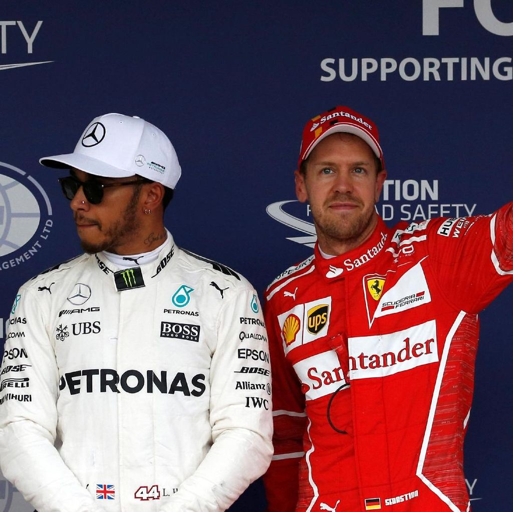 Vettel Prediksikan Balapan Sengit Lawan Hamilton
