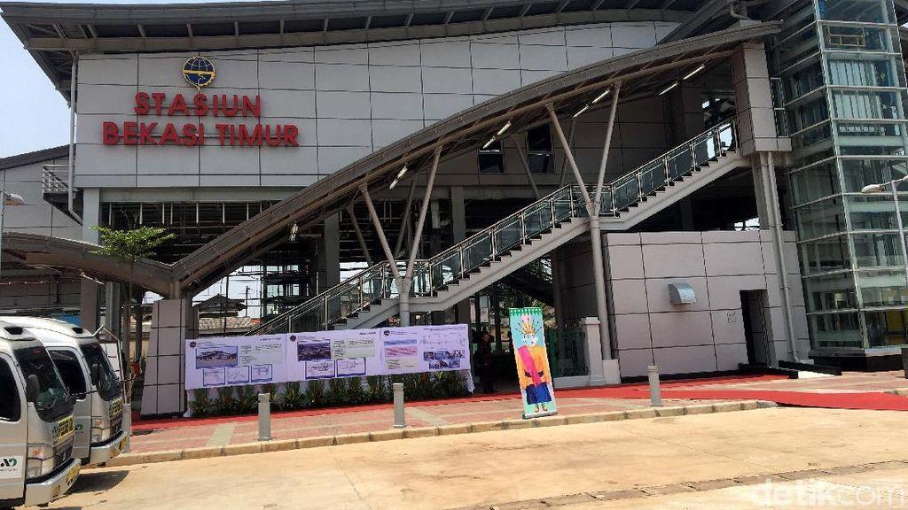 Begini Lho Wajah Stasiun Bekasi Timur untuk KRL Cikarang