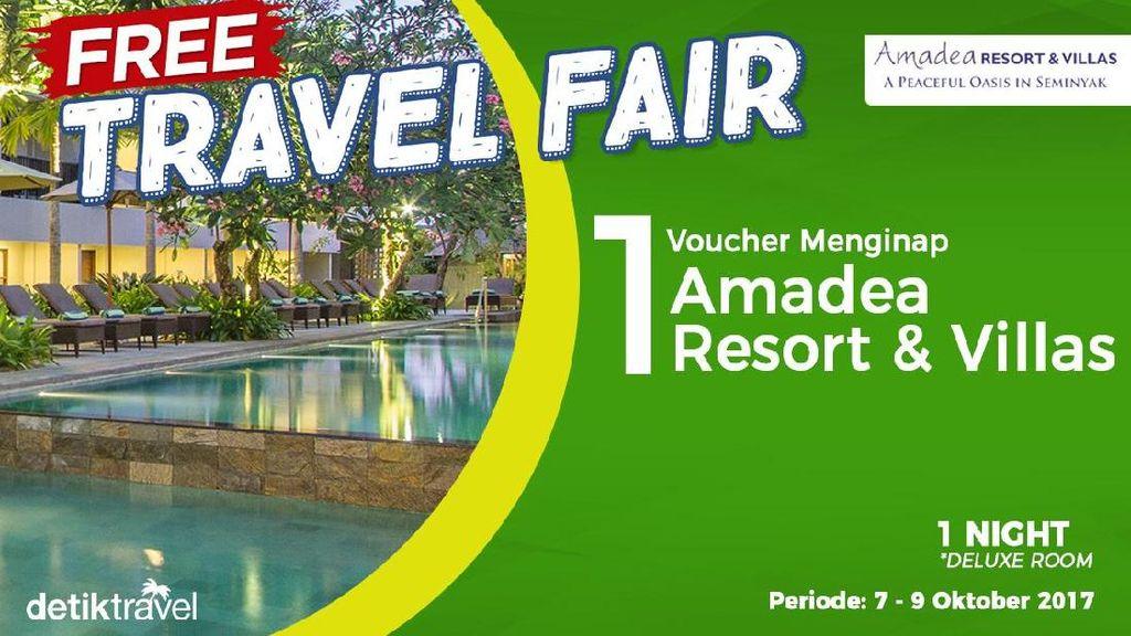 Pemenang Free Travel Fair Periode 6-9 Oktober 2017