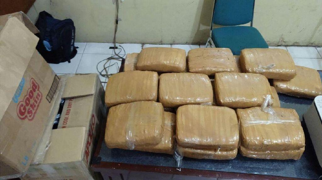 Kirim Ganja 20 Kg, Mahasiswa di Aceh Ditangkap