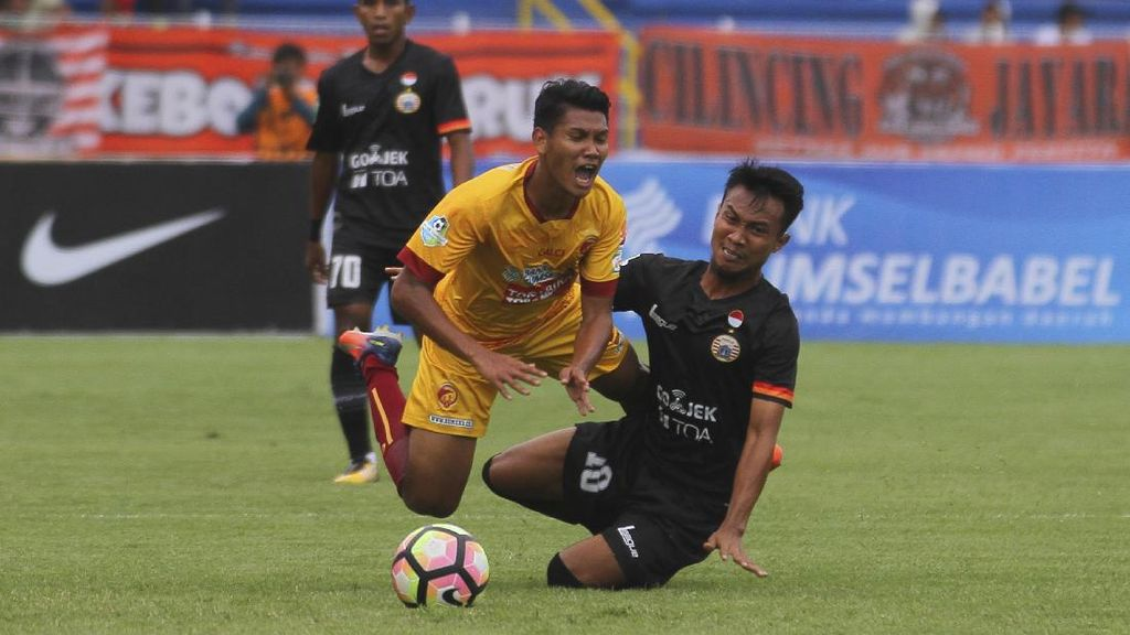 Persija Sesali Kegagalan Raih Poin di Markas Sriwijaya FC