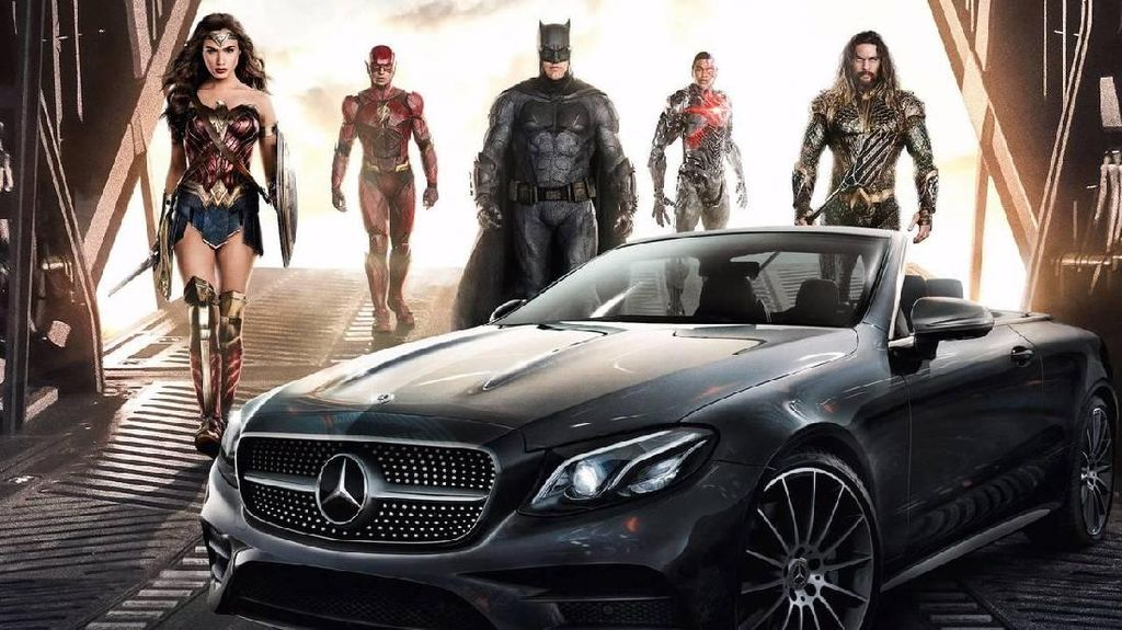Ini Tunggangan Supercar Para Superhero di Justice League