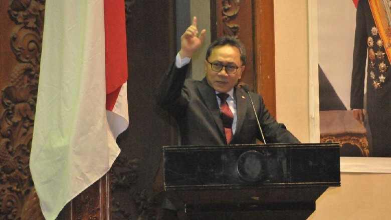 Ketua MPR Zulkifli Hasan (Dok. MPR)