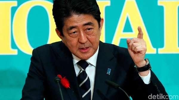 Rudal Balistik Korut Jatuh di Wilayahnya, PM Jepang Protes Keras