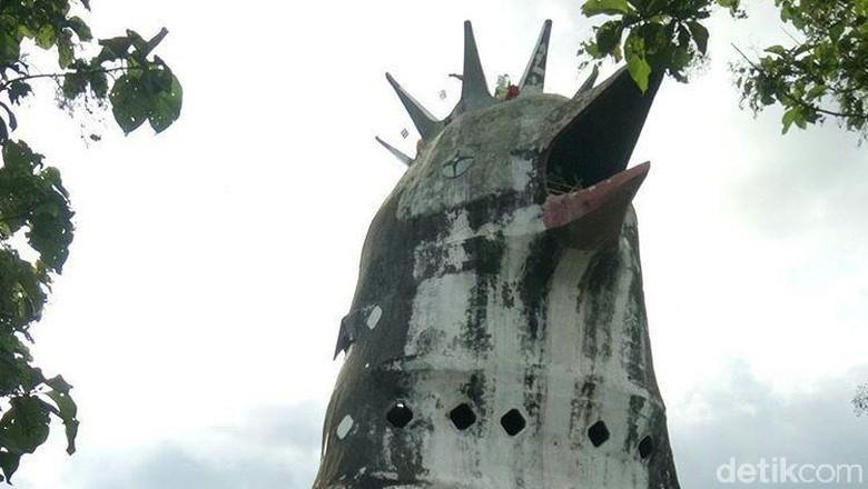 Foto: Gereja Ayam di Magelang (Pertiwi/detikTravel)