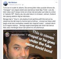 Dituding Bikin Video Seks di Jakarta, David Bond: 100% Bohong`