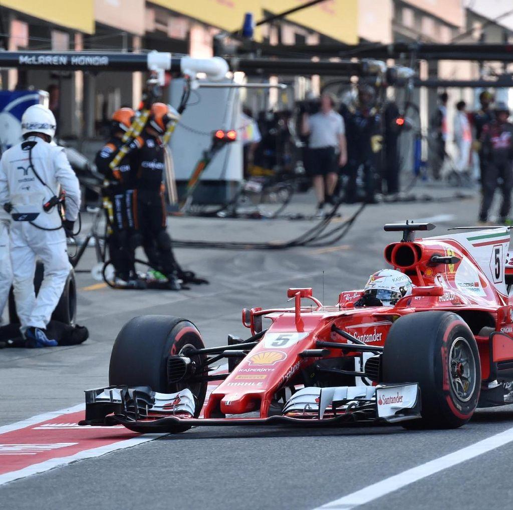 Vettel Belum Kibarkan Bendera Putih