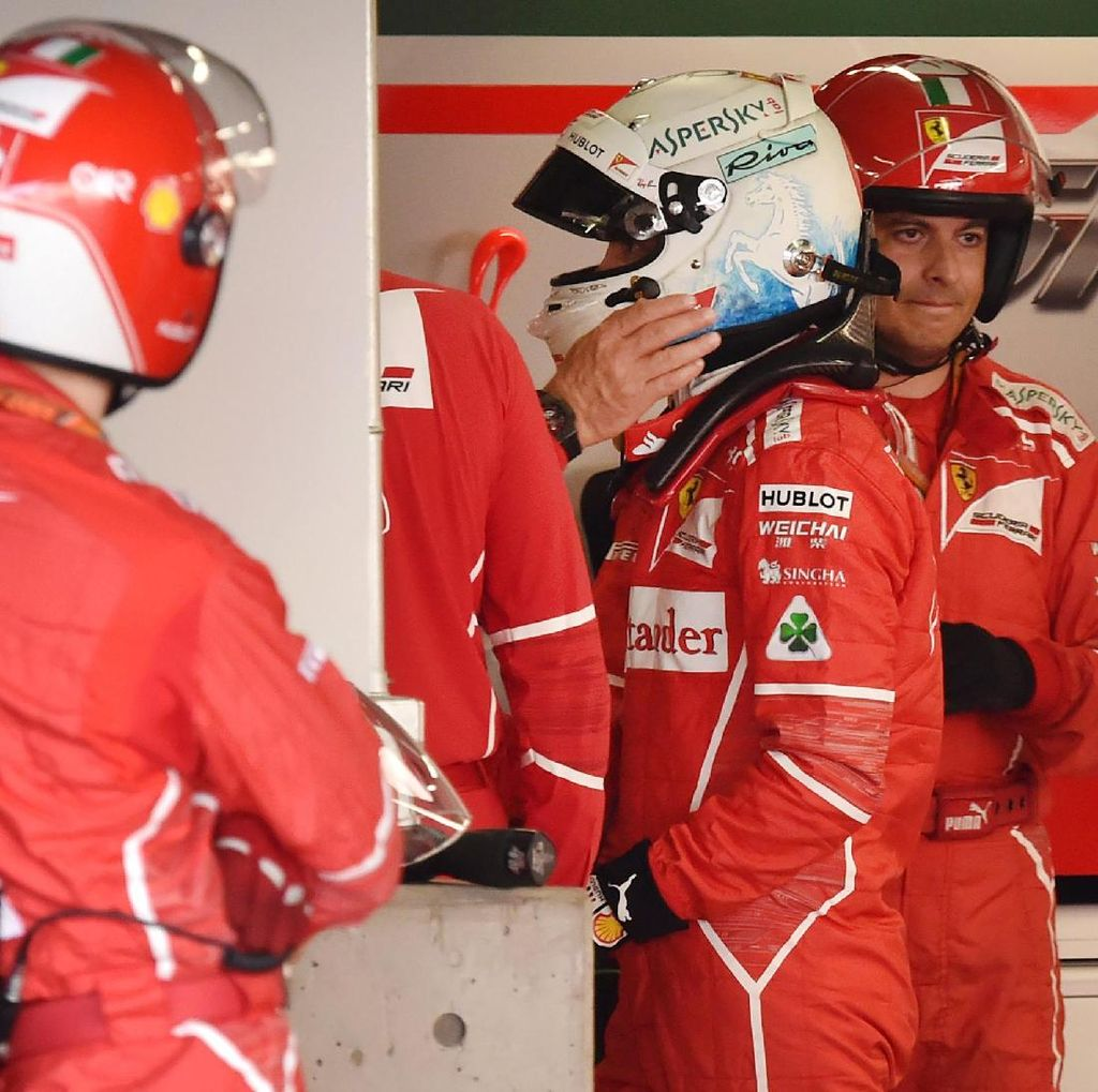 Ada Apa dengan Vettel dan Ferrari?