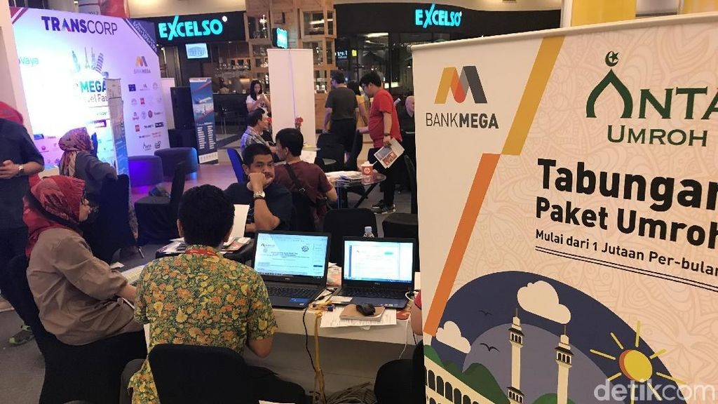 Paket Umroh di Mega Travel Fair Makassar Jadi Favorit
