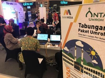 Paket Umroh di Mega Travel Fair Makassar Jadi Favorit
