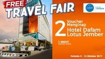 #FreeTravelFair : Voucher Bermalam di Hotel Dafam Lotus Jember