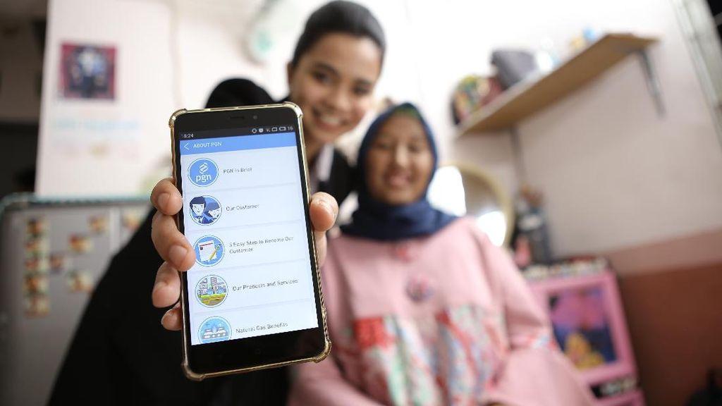 Mau Masak Pakai Gas Bumi? Bisa Daftar Pakai Aplikasi PGN Mobile