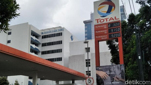 SPBU Total