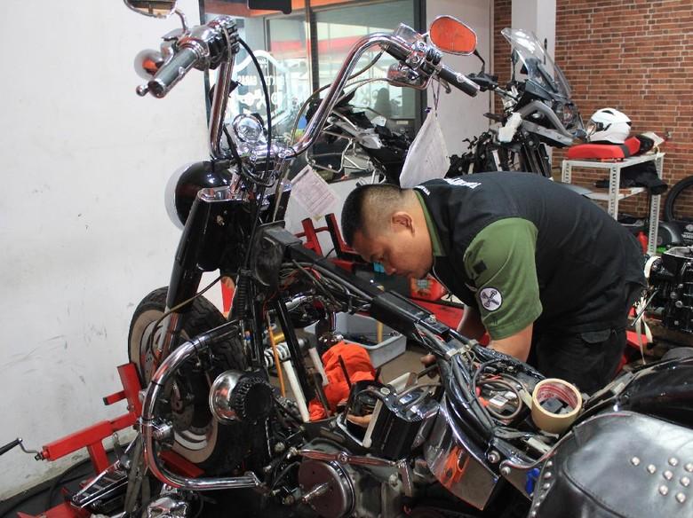 Pilih Bengkel yang Tepat Agar Tak Dikelabuhi Saat Servis Harley