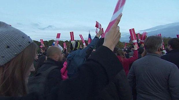 Unjuk rasa di Rusia saat ulang tahun Putin pada 7 Oktober