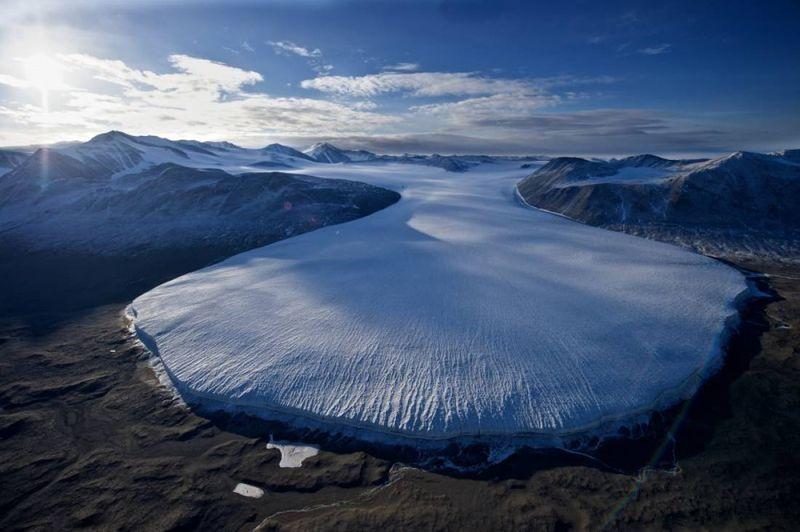 Letaknya yang berada di dekat Laut Ross, Antartika. Agen ekspedisi Oceanwide Expeditions yang akan membawa Anda ke Mars di bumi yang bernama Lembah Kering McMurdo (Dok. Oceanwide Expeditions)