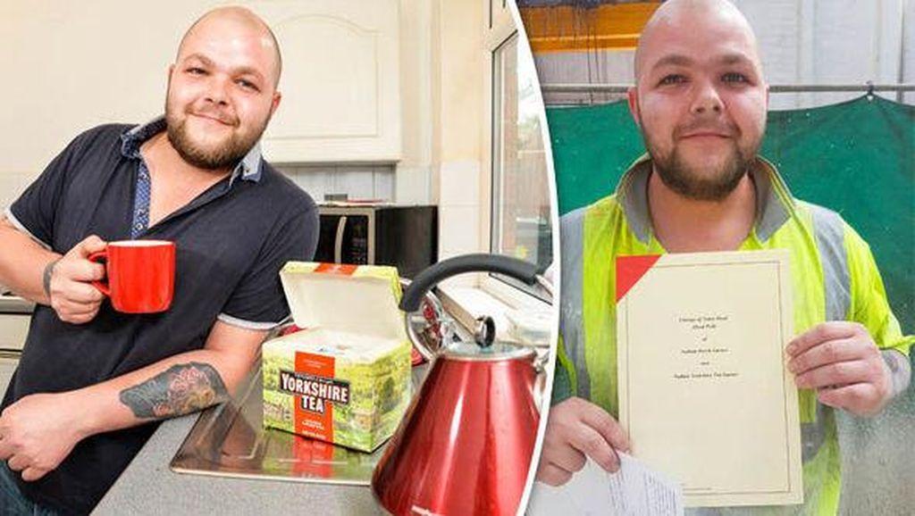 Saking Cintanya, Pria Ini Sematkan Yorkshire Tea dalam Namanya