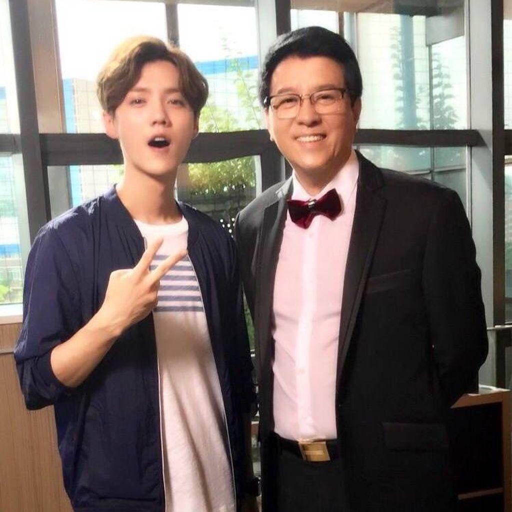 Luhan Ternyata Sudah Bertemu dengan Ayah Guan Xiao Tong