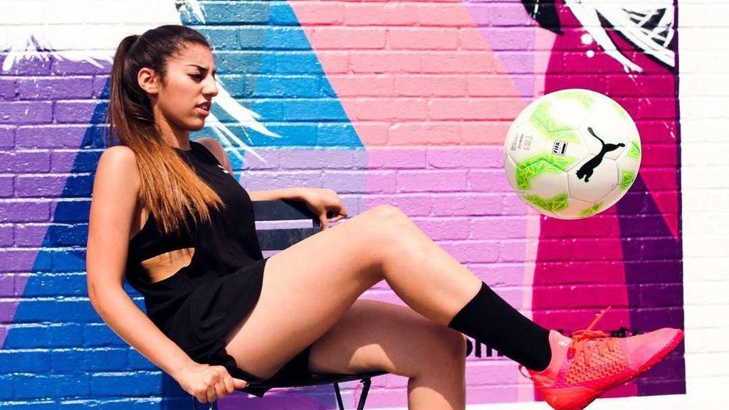 Kenalkan Lisa Zimouche, ABG Cantik Jago Juggling dari Prancis