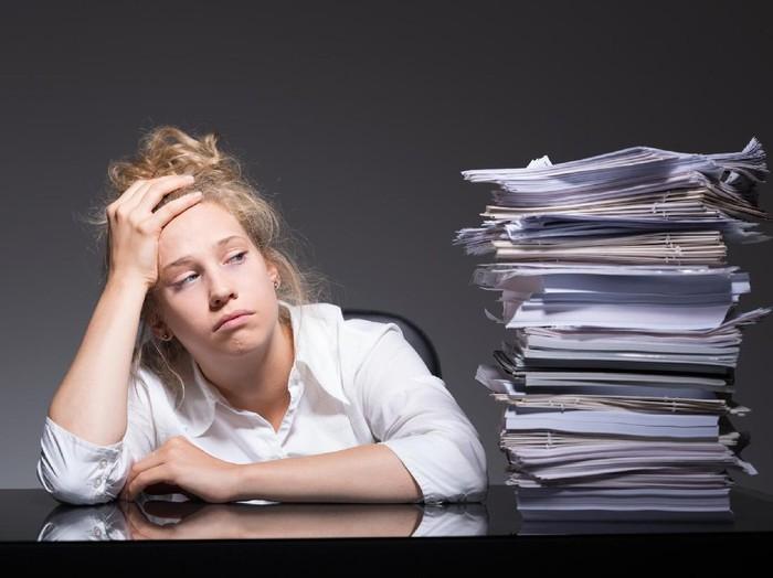 Stres bisa tidak menunjukkan gejala umum seperti sakit kepala atau mood yang memburuk. Foto: ilustrasi/thinkstock