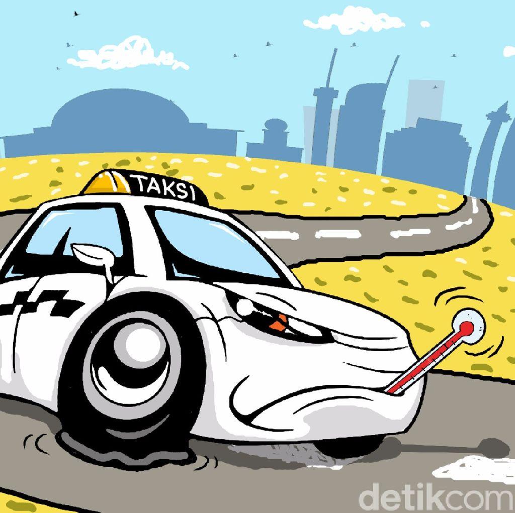 Sistem Pemantau Taksi Online Mulai Diterapkan