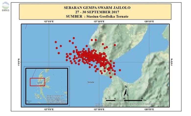 Ini Penjelasan BMKG soal Gempa Berulang di Jailolo Maluku Utara