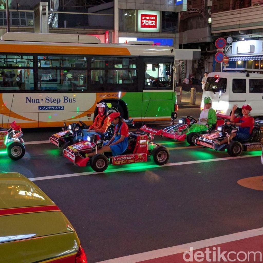 Bisnis Sewa Mobil ala Mario Kart Dikecam Nintendo