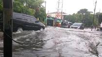 Hujan Deras, Jalan Tebet Barat 1 Tergenang