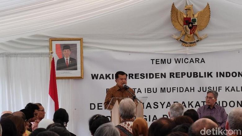 Di Belgia, JK Bicara soal Macet Jakarta