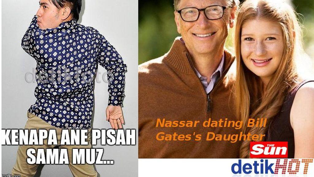 Nassar Pacari Anak Bill Gates, Si Pedangdut Kepedean
