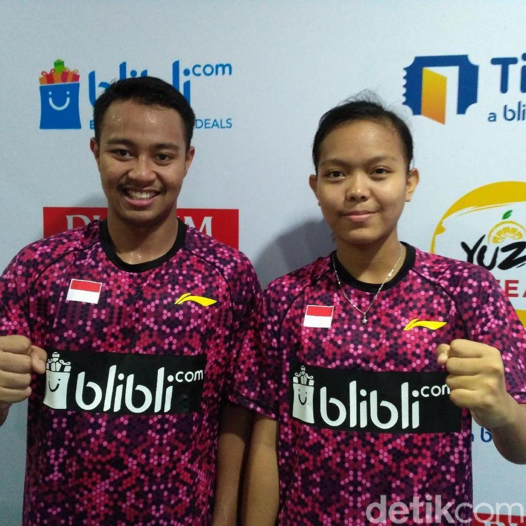 Rehan/Fadia Bawa Indonesia Unggul 1-0 atas Brasil