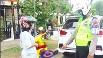 Pemotor dengan Pelat Thailand Kembali Terciduk, Kali Ini di Karawang