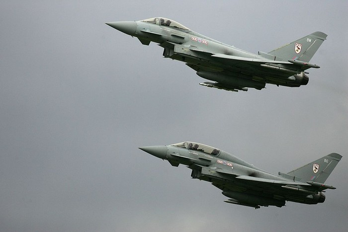 Eurofighter Typhoon. Foto: Getty Images
