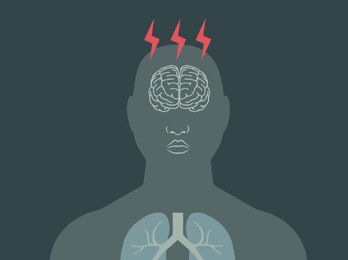 Stres bisa berdampak pada keluhan fisik. Foto: infografis
