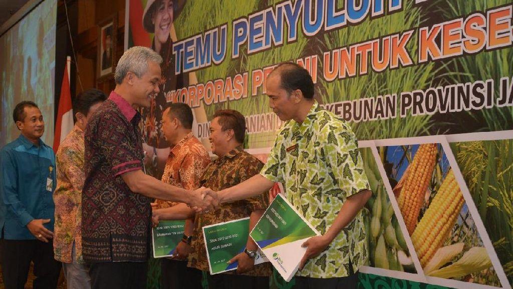 Kementerian Pertanian Kembangkan Kartu Tani di Jateng