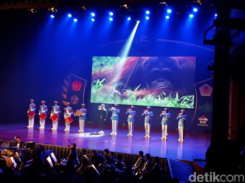 Gelar Anugerah Festival Panglima TNI - Jakarta Markas Besar TNI menggelar malam penganugerahan Festival Film Nusantara di Taman Ismail Marzuki Jakarta Acara ini digelar