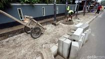 Revitalisasi Pedestrian di Kawasan Pasar Rebo