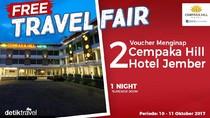 #FreeTravelFair : Bermalam Gratis di Cempaka Hill Hotel Jember