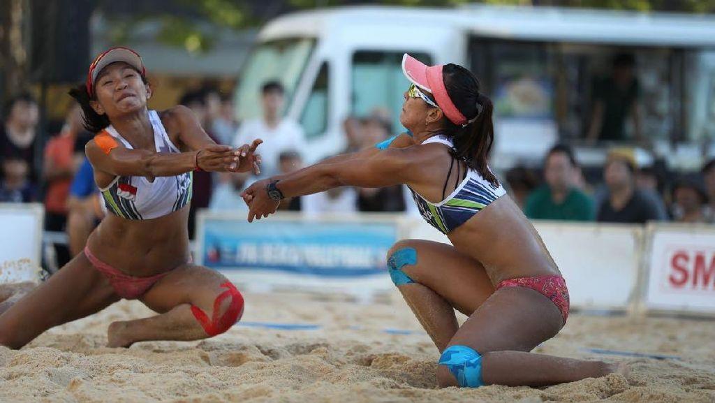 Ini Evaluasi Dhita/Dini Usai Jadi Runner-up Kejuaraan Asia Pasifik Voli Pantai