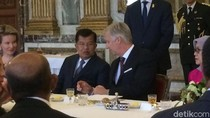 Di Depan JK, Raja Belgia Puji Peradaban dan Keanekaragaman Indonesia