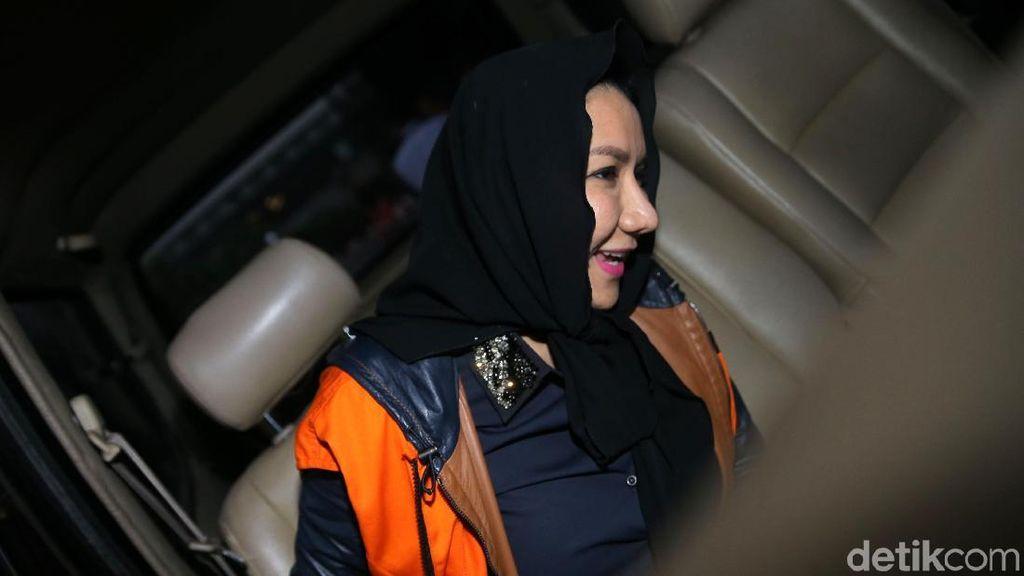 Bupati Kukar Rita Widyasari Diperiksa sebagai Tersangka